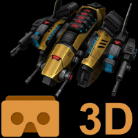 Store MVR 제품 아이콘: Cardboard 3D VR Space FPS game
